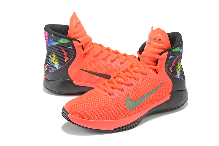 Nike Prime Hype DF 2016 Orange Black Colorful All Star Shoes