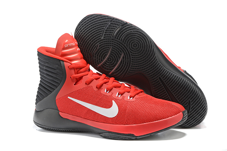 Nike Prime Hyper DF 2016 Red Black White Shoes