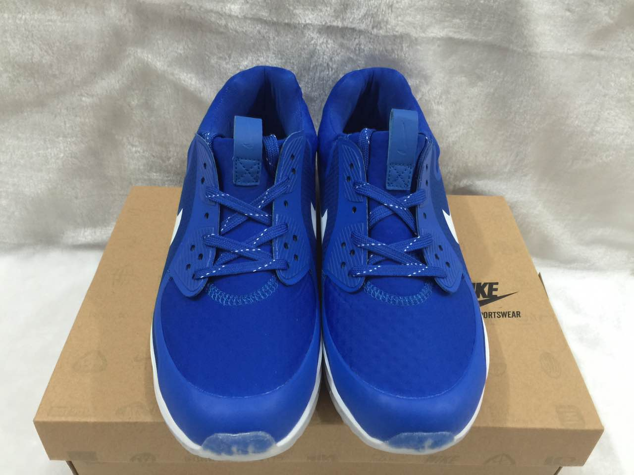 2017 Men Zoom 90 IT Blue White Shoes