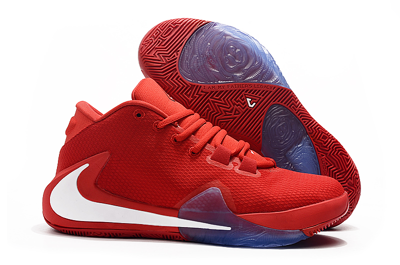 Nike Zoom Freak 1 Red White Shoes