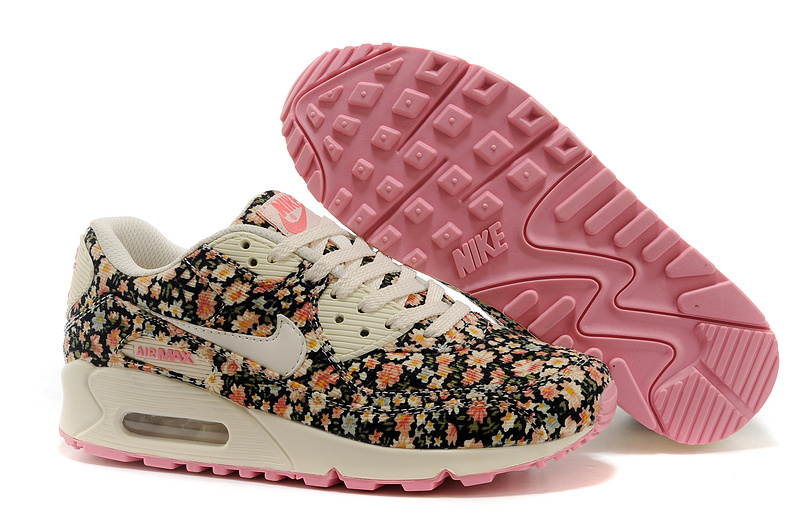 Cheap Nike Air Max 90 Flower WomenJasmine