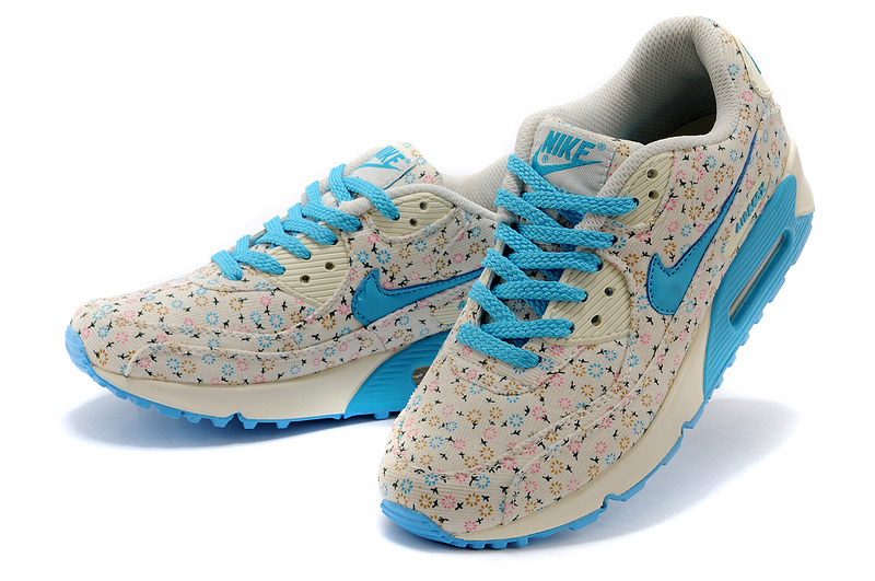 New UK Nike Air Max 90 Flower WomenDandelion