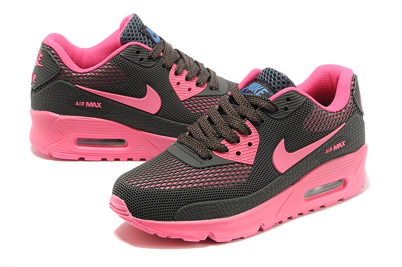 New UK Nike Air Max 90 Honeycomb Women Carbon Grey Pink Cheap Me