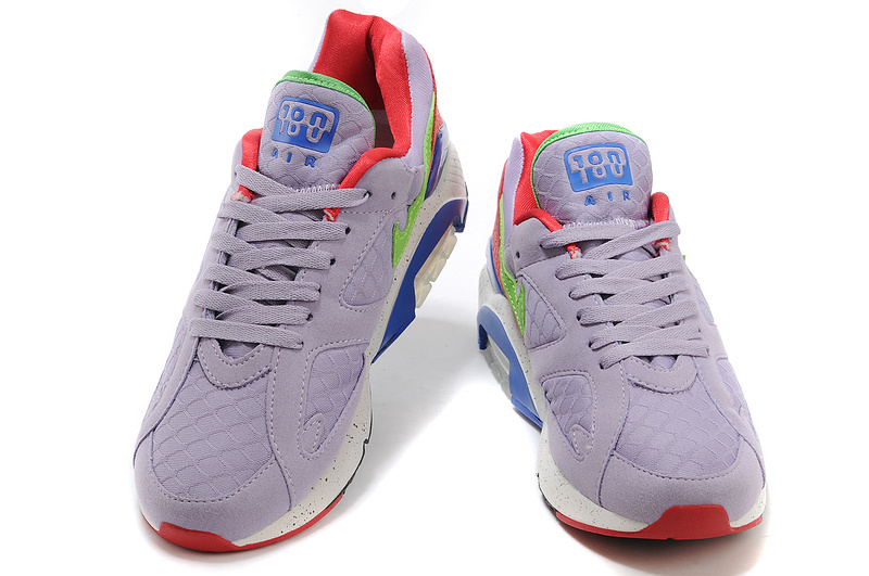 UK Nike Air Max 180 Men Light Purple Pink White Blue Cheap