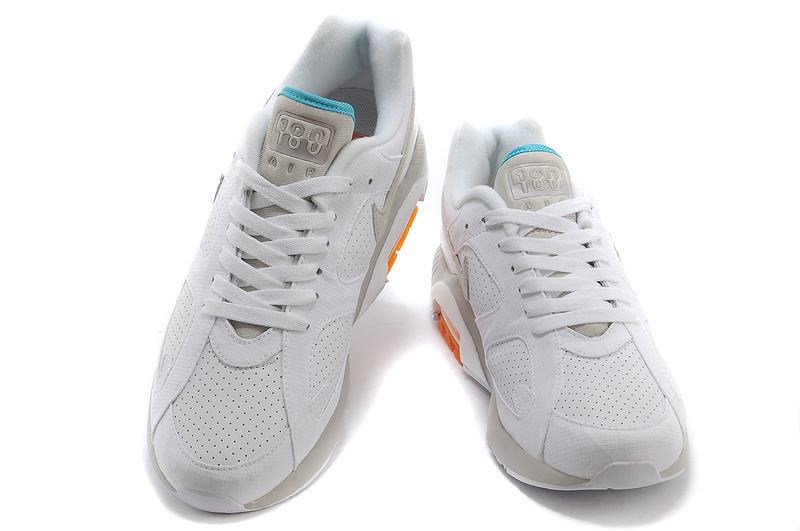 Discount Nike Air Max 180 Men White Ivory White Orange red