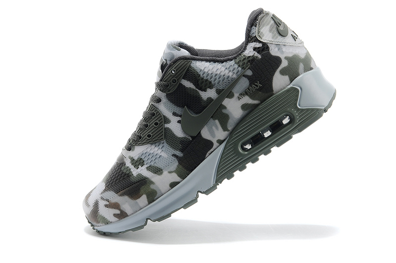 Nike Air Max 90 II Camouflage Men Light navy Green White Camoufl