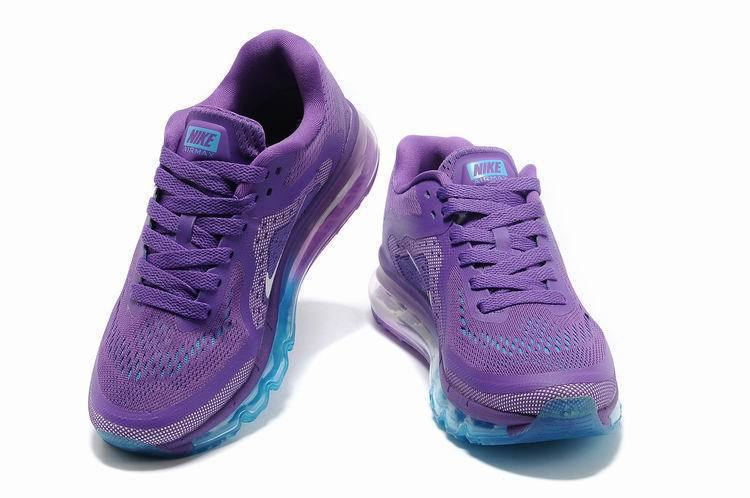 2014 New Nike Air Max 2014 Women Light purple Authentic