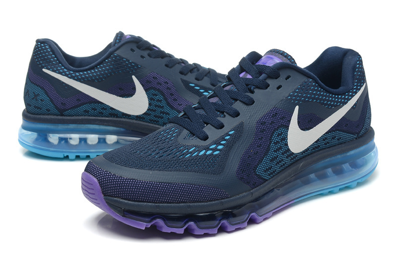 Cheap Men UK Nike Air Max 2014 Men Deep blue Purple