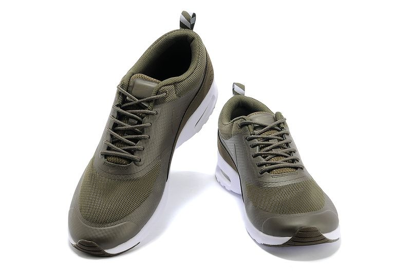 Nike Air Max Shoes Thea British Men Olive