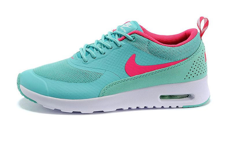 Nike Air Max Shoes Women Thea British Neo Turquoise R