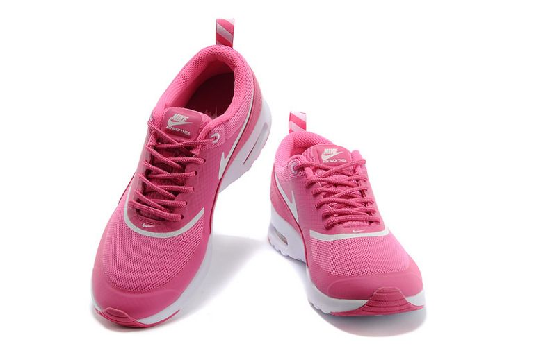 Nike Air Max Shoes Women British Thea Rose White