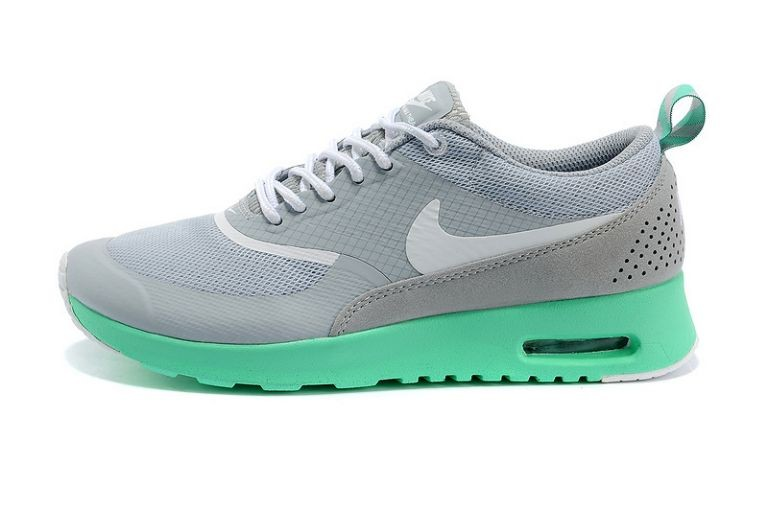 Nike Air Max Shoes Thea British Women Light Grey New