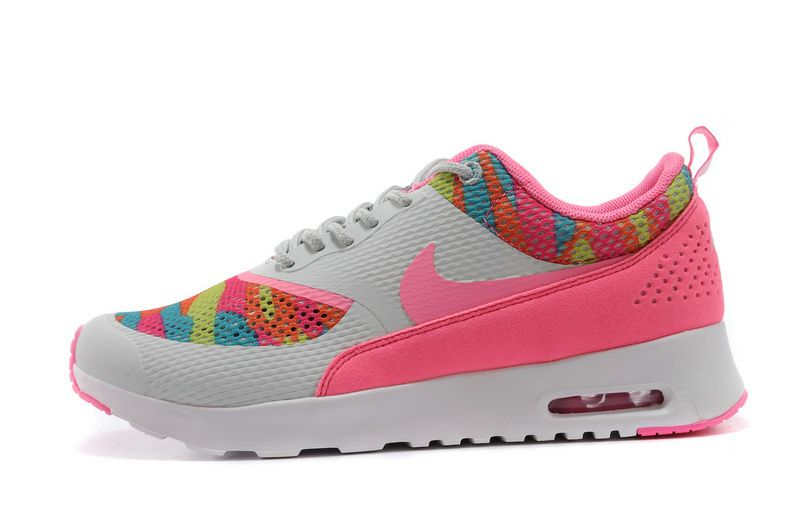 Nike Air Max Thea Print Women Sneakers gray/pink