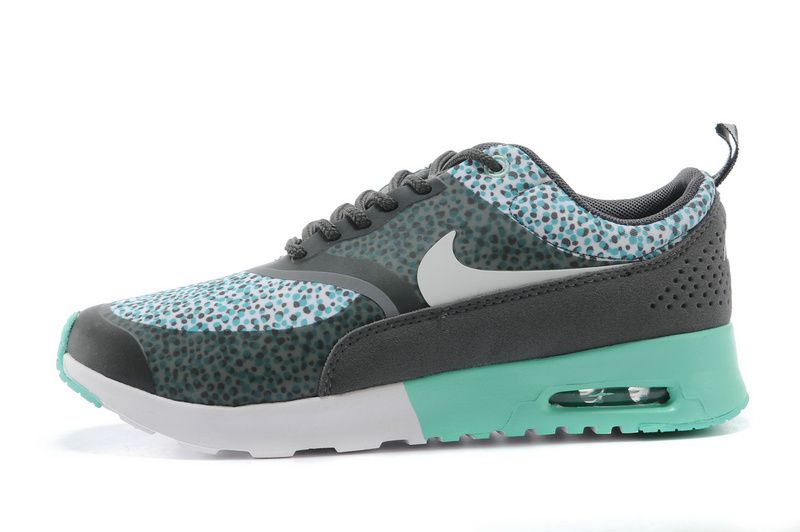 Nike Air Max trainers Thea Print Women Anthracite/Blanc