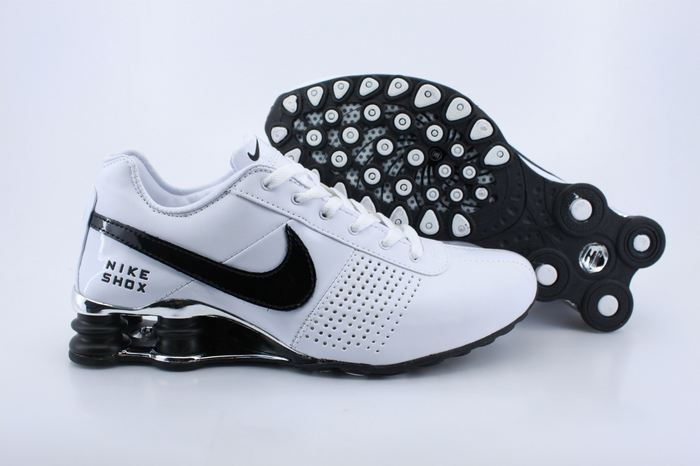 White Black Mens Nike Shox OZ Shoes
