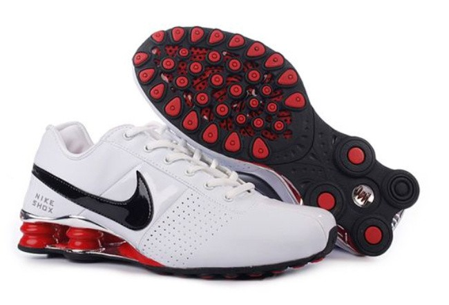 White Black Shoes Mens Nike Shox OZ