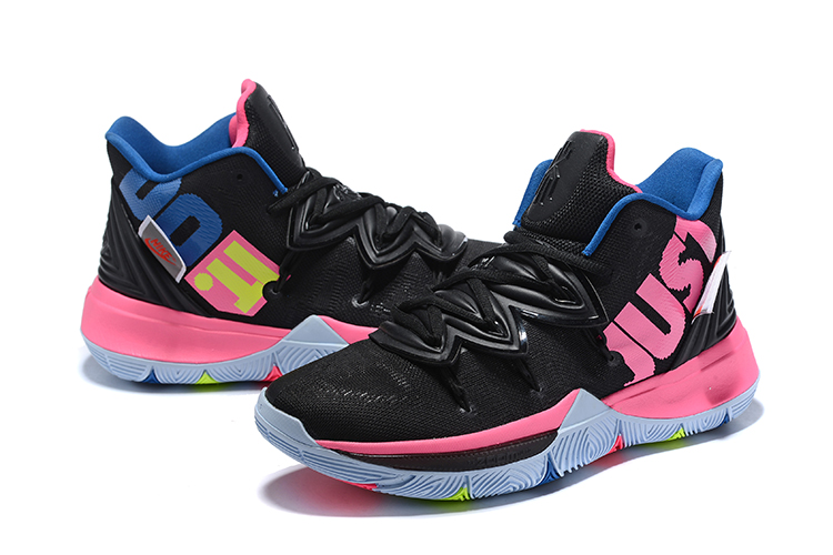 Women Nike Kyrie 5 Black Peach Shoes