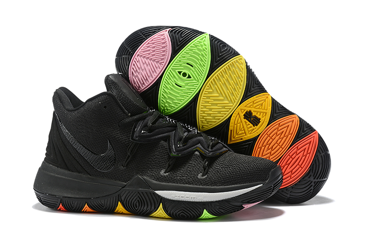 Women Nike Kyrie 5 Black Soul Shoes