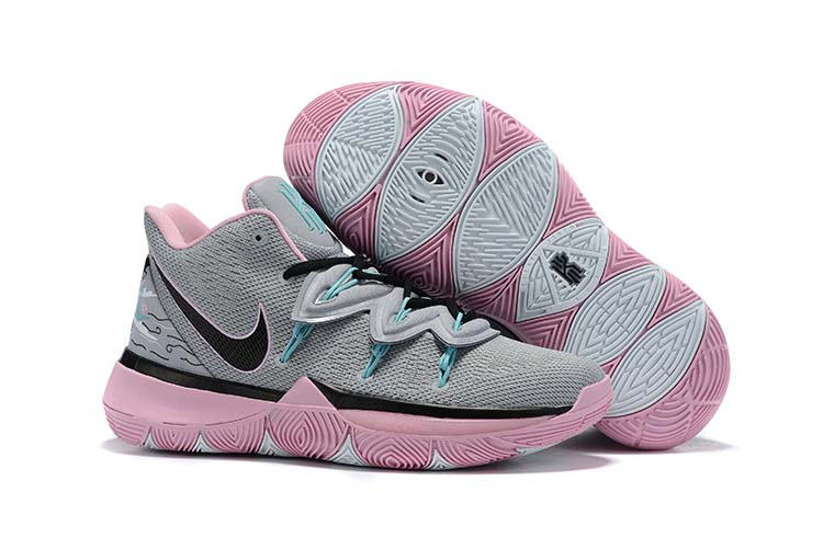 Women Nike Kyrie 5 Grey Pink Shoes