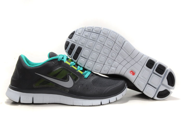 Nike Free Run 3 Women Black Green R3F360