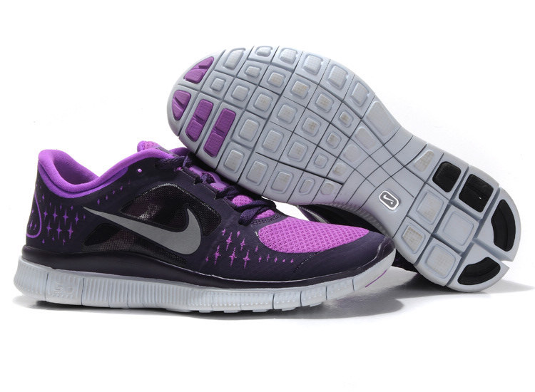 Nike Free Run 3 Women Black Purple Boutique R3F357