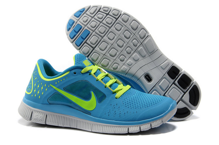 Nike Free Run 3 Women Blue Green R3F351