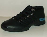 air jordan 17 low black blue shoes