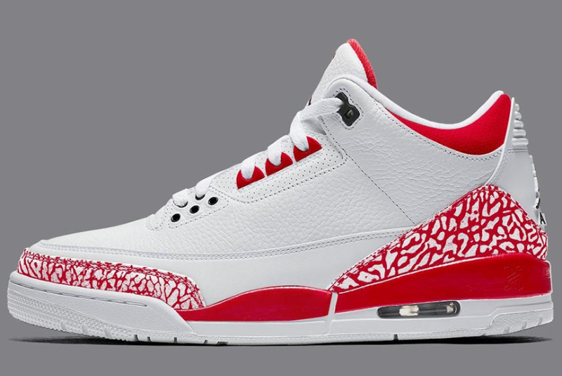 Cheap jordan 3 retro se tokyo white fire red black shoes