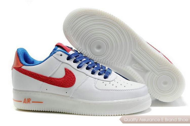 Nike Air Force 1 Mens blue/red/white