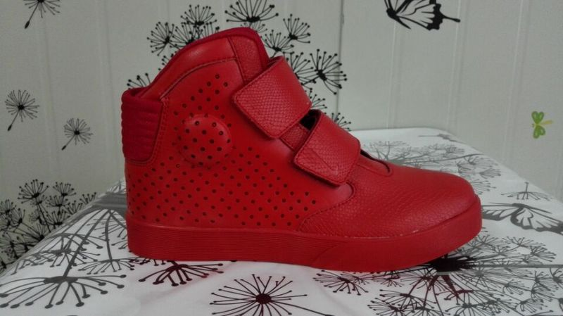 all red nike flystepper 2k3 prm