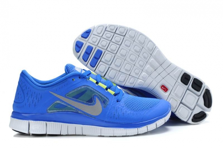 Nike Free Run 3 Women RoyalBleu White R3F341