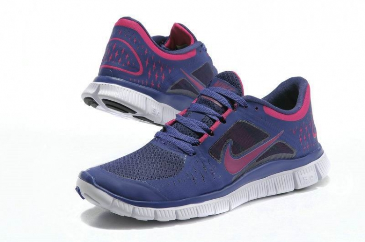 Nike Free Run 3 Women Blue Red R3F348