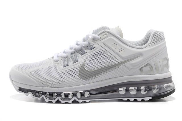 Women Air Max 2013 Cool Grey/Silver M21076