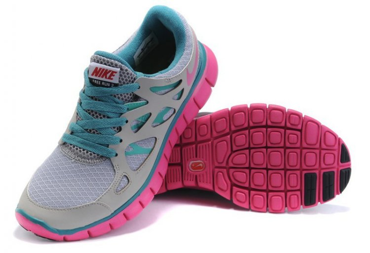 Nike Free Run 2 + Female Ash Rose Boutique month + R 2392