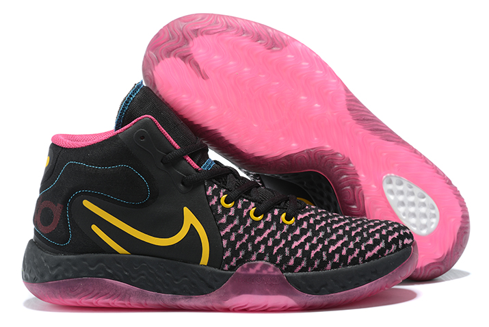 2020 Nike kd trey 5 viii black pink yellow blue shoes