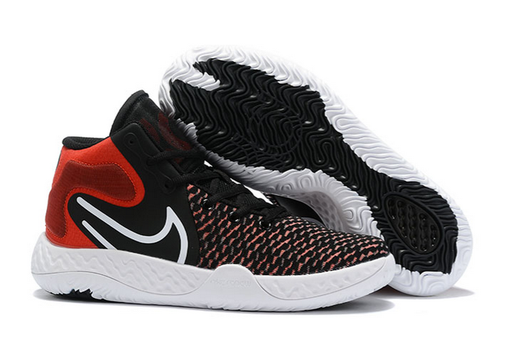 2020 Nike kd trey 5 viii black university red white shoes