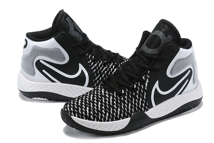 2020 Nike kd trey 5 viii black white grey shoes