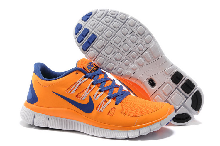 2014 Nike Free Women 5.0+ Orange Blue 5 + F298