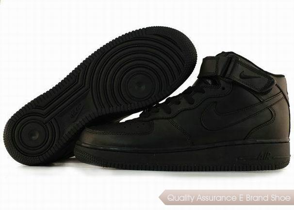 Nike Air Force 1 Unisex All Brown Shoes