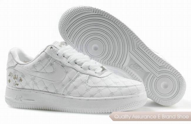 Nike Air Force 1 Low Unisex All White Shoes