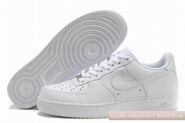 Nike Air Force 1 Unisex All White Shoes