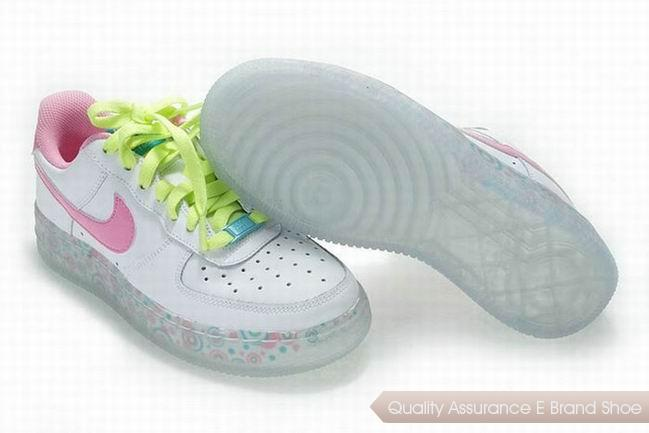 Nike Air Force 1 Low Womens Pink Shoes