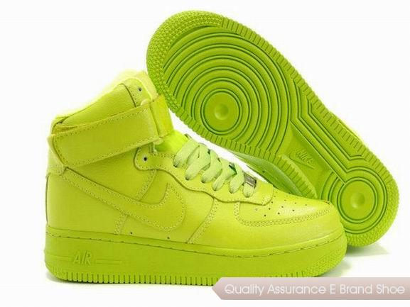 Nike Air Force 1 Womens All Green Shoes